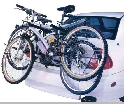 UKB4C Polo 3 Bike Carrier Rear Boot Mounted Cycle Rack Bicycle
