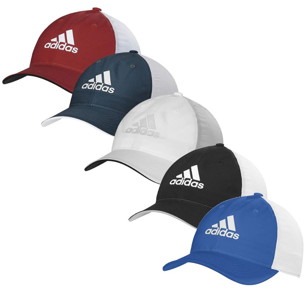 2017 Adidas Mens Golf Climacool Cap Flex Fit Cooling Structured Fitted  Sport Hat de9ed851744