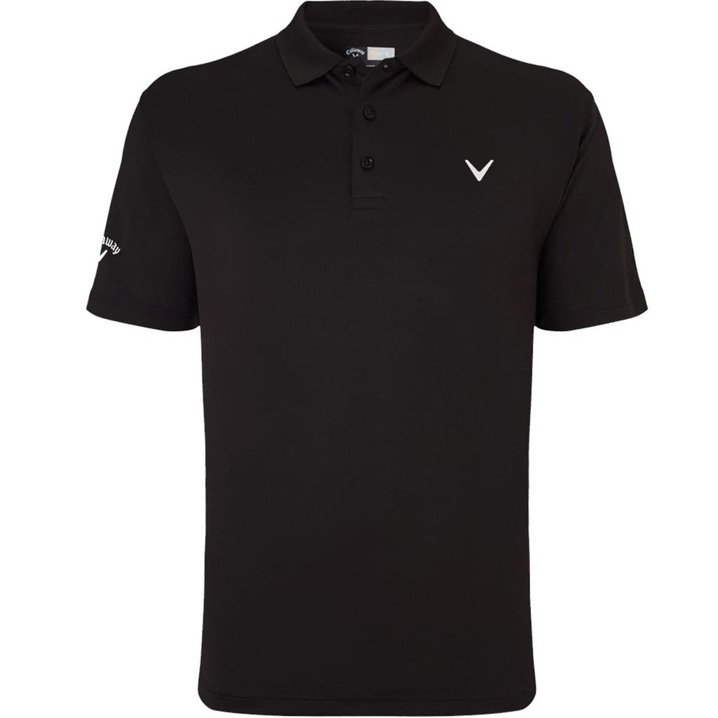 2017 callaway men 39 s solid performance opti dri golf polo shirt tour logo chest ebay. Black Bedroom Furniture Sets. Home Design Ideas