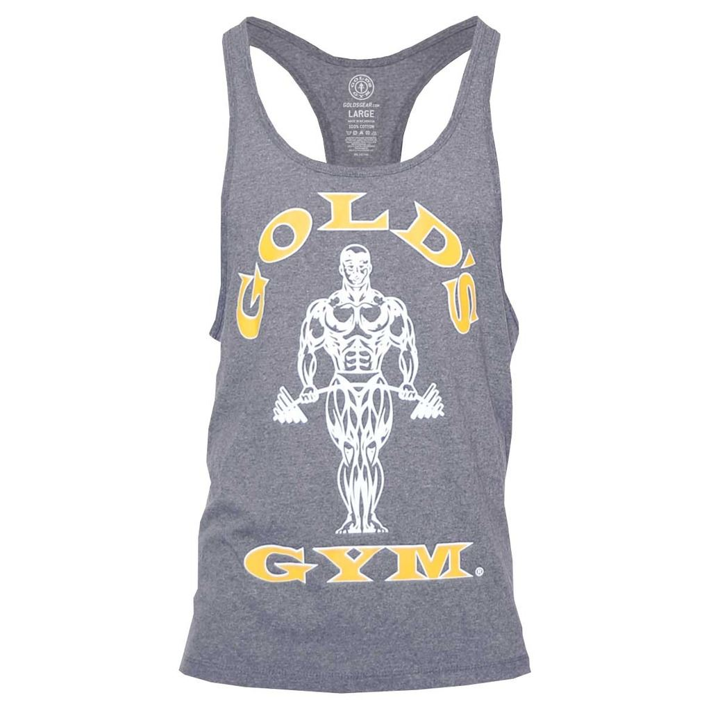 2017 gold 39 s gym muscle joe premium stringer fitness sports for Gimnasio 9 entre 40 y 41