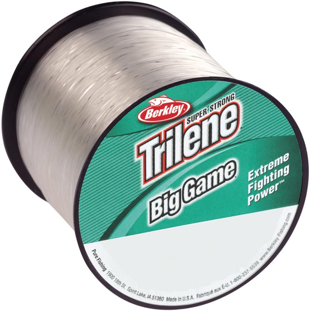 Berkley Trilene Big Game Clear Fluorocarbon Leader-Saltwater,Carp All Sizes100yd