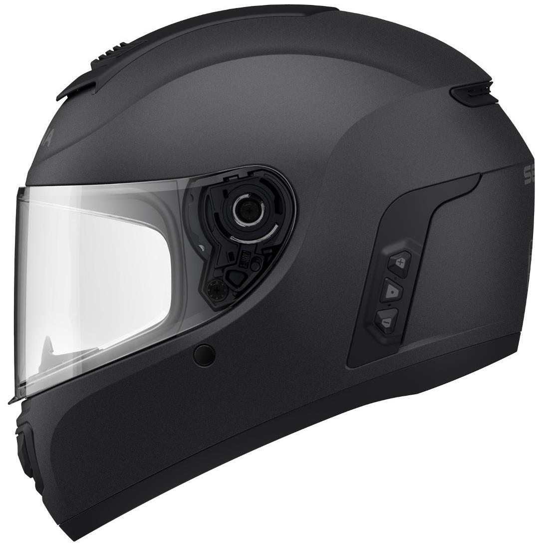 Sena Momentum Evo Smart Matte Black Motorcycle Helmet