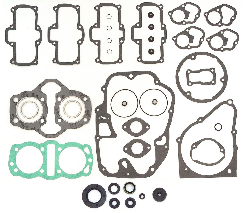 Honda CB450 CB450K0 4 Speed 1965-1968 8 Seals Gaskets Engine Rebuild Kit