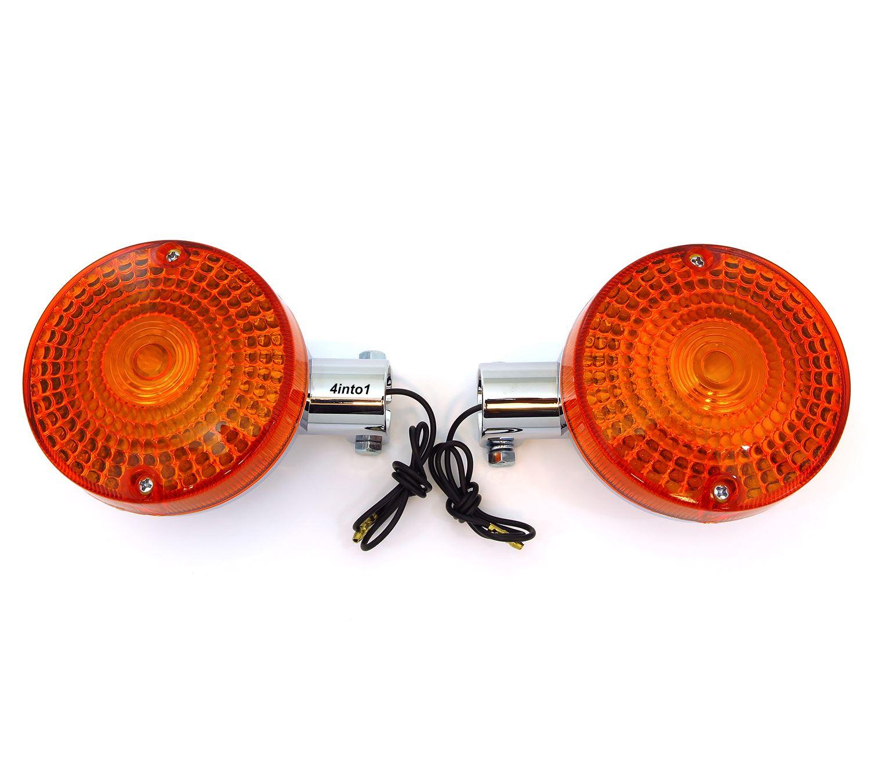 Set of 4 Reproduction Turn Signals Honda CB400//500//550//650 Single Filament