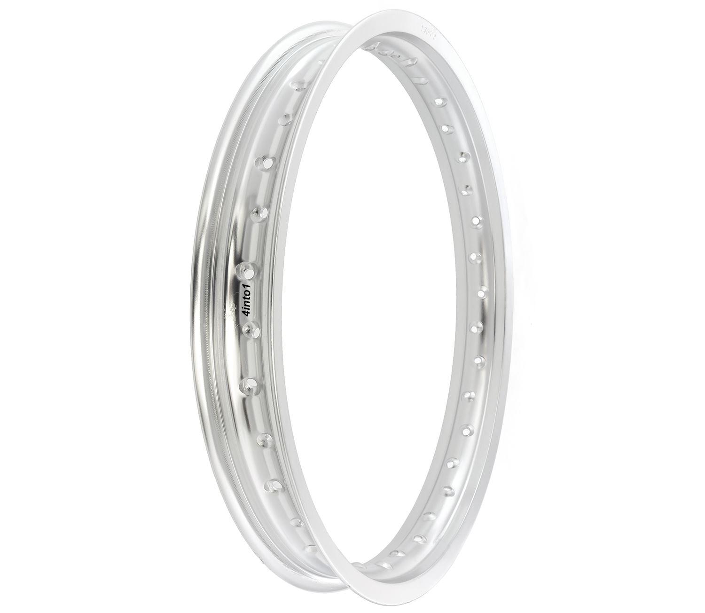 Rising Sun Aluminum Motorcycle Wheel Rim 36 Hole Silver 1.85 x 18