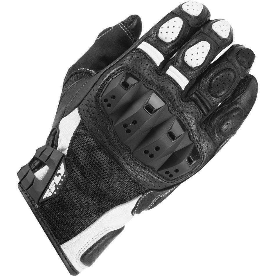 Fly Racing Brawler Leather Motorcycle Glove