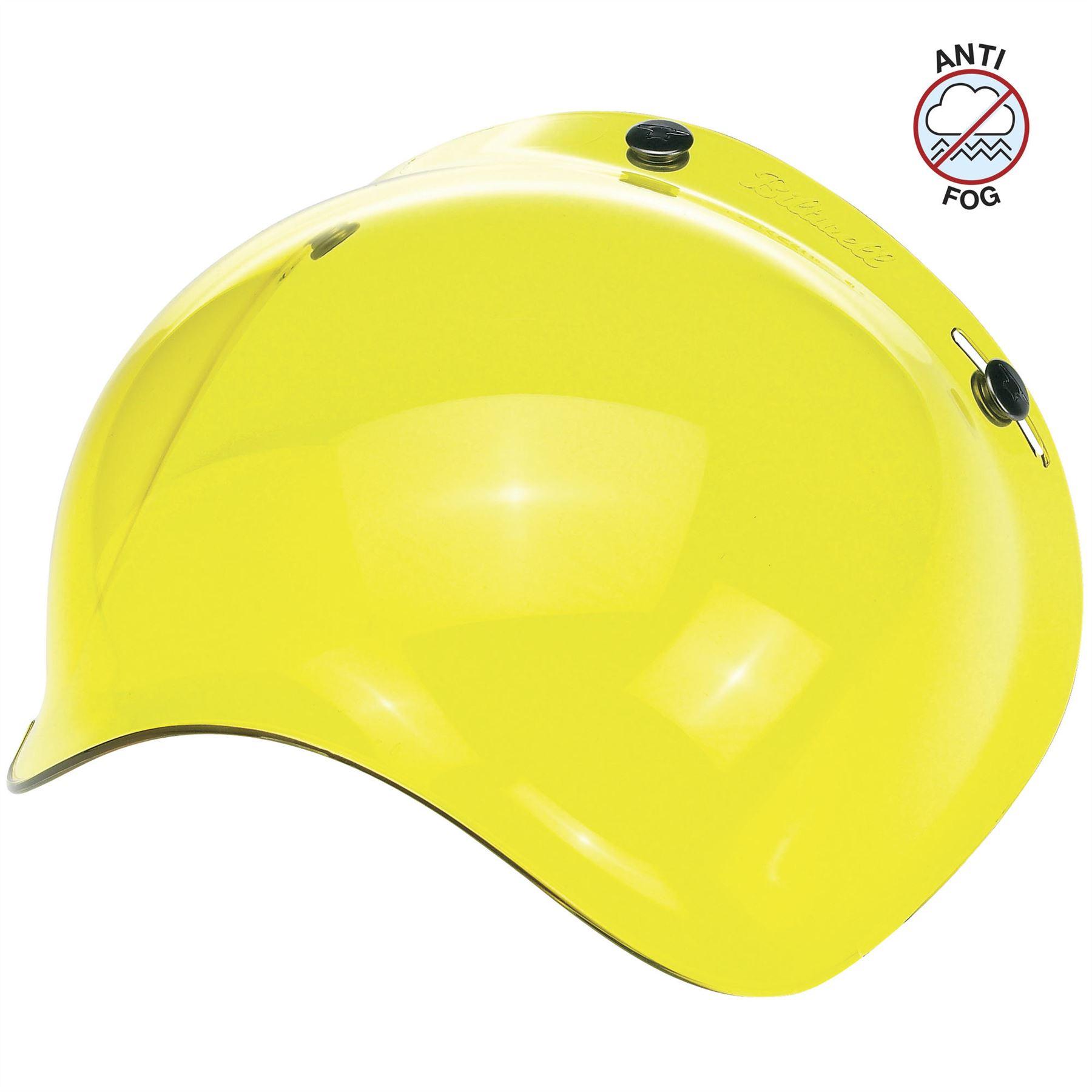 Biltwell Gringo S Bubble Shield Anti Fog Yellow