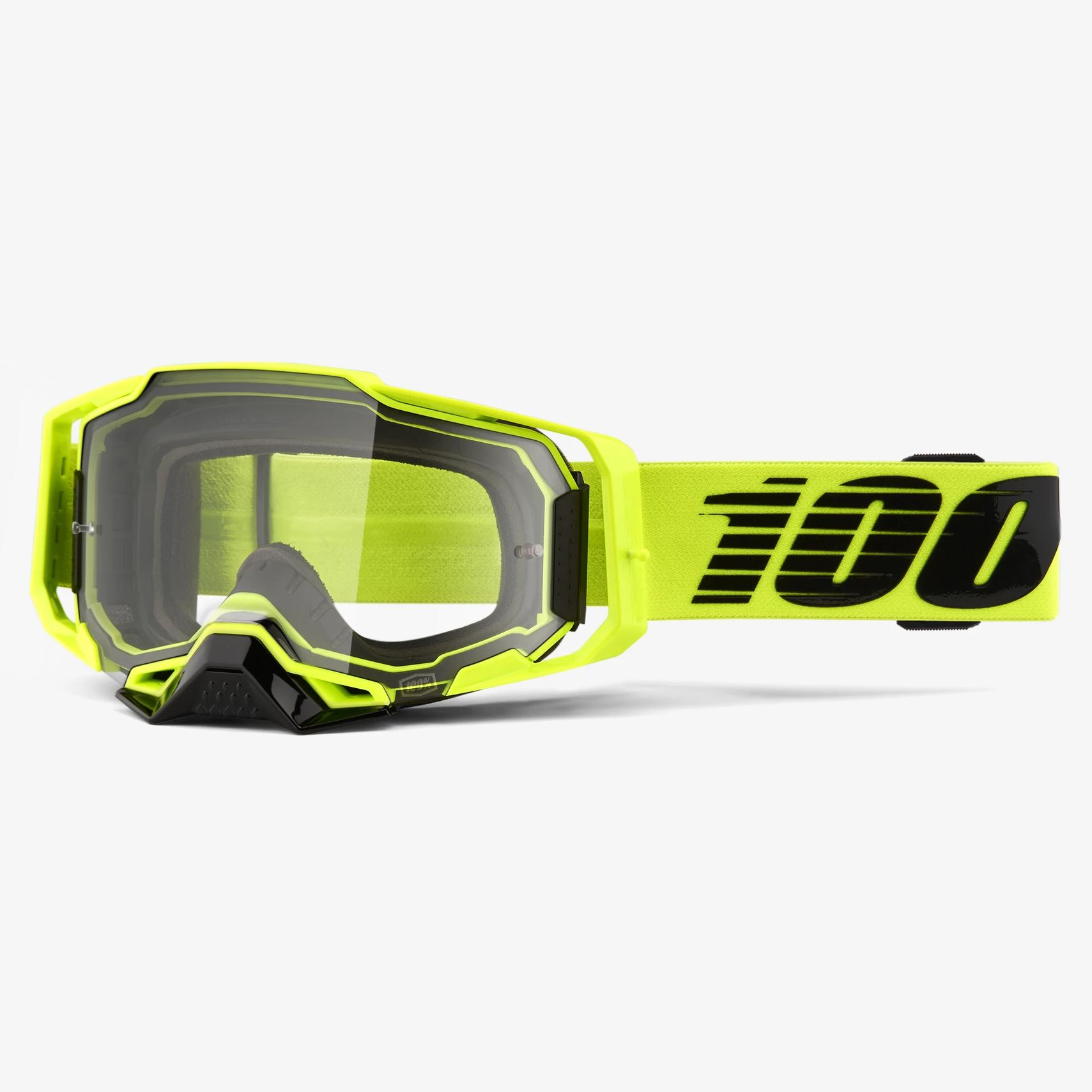 Clear Lens BLACK 100/% ARMEGA Goggles Offroad MX FREE PRIORITY SHIP