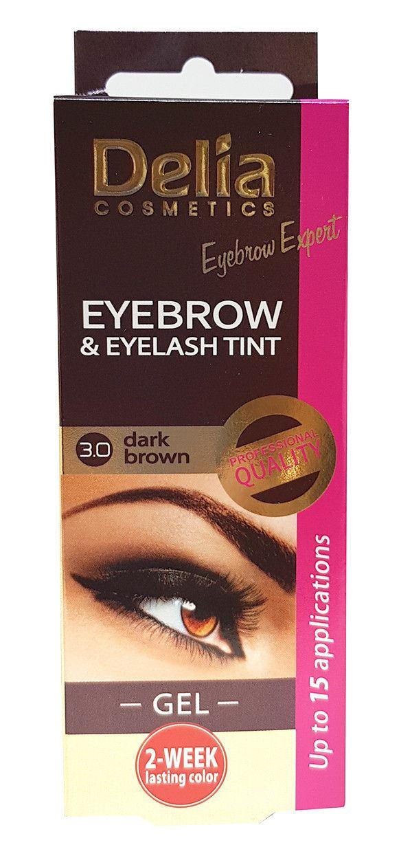 Delia Cosmetics Dye Eyelash And Eyebrow Professional Tint Lash