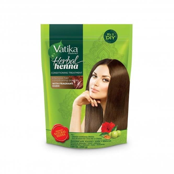 Vatika-Herbal-Henna-Intensive-Natural-Hair-Colour-Tint-Conditioning-Powder-200g thumbnail 3