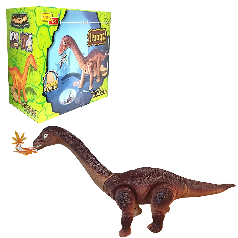 Ninos-Ninos-Juguetes-Figura-de-huevo-de-dinosaurio-pone-Caminar-Con-Luz-Sonido-regalos-Bnb miniatura 8