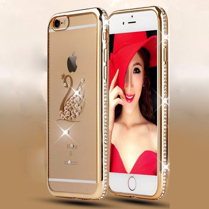 For-New-iPhone-5-6-Case-Transparent-Crystal-Clear-Case-Gel-TPU-Soft-Cover-Skin thumbnail 5