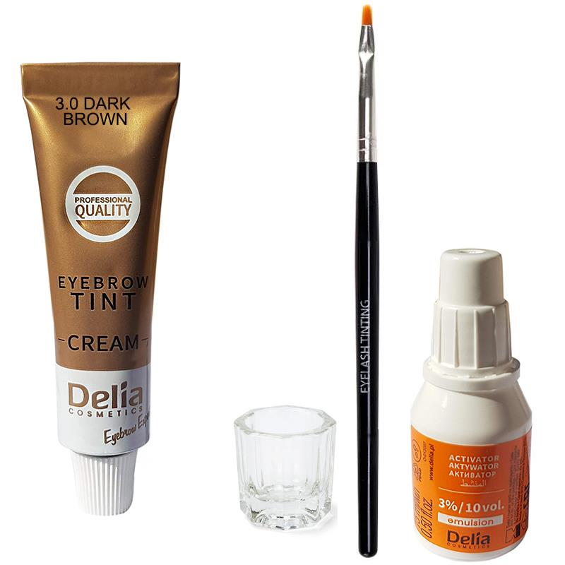 Delia Professional Tinting Eyelash & Eyebrow Dye Tint Lash ...