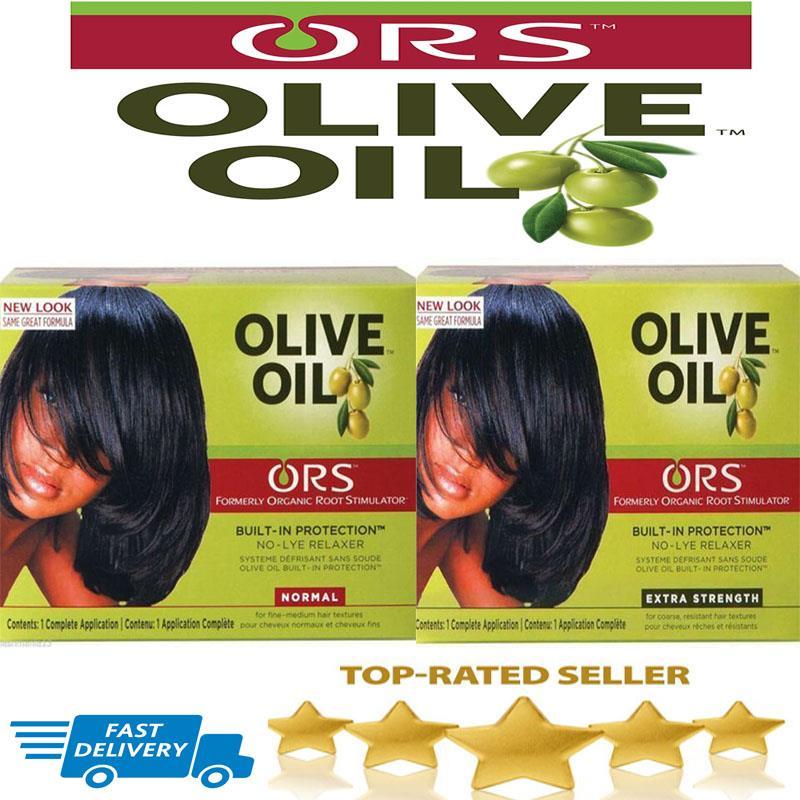 Ors Organic Root Stimulator Olive Oil Hair Relaxer Nolyekit E Strength Normal Ebay