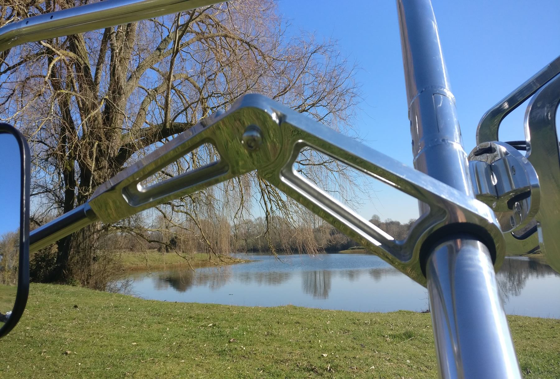 Water Ski Boat Wakeboard Tower Rear View Mirror