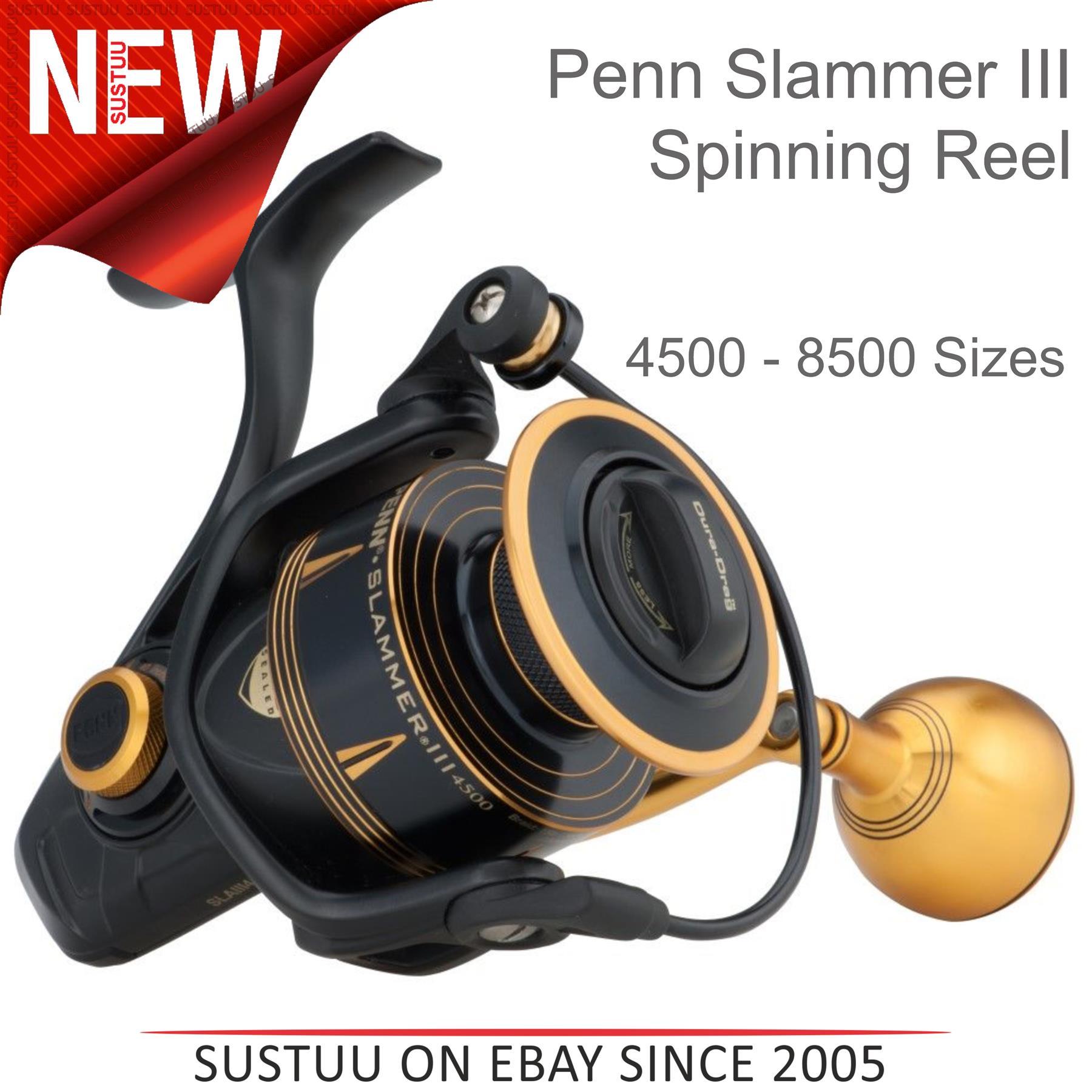 Penn Slammer III High Speed fixed sea fishing reel