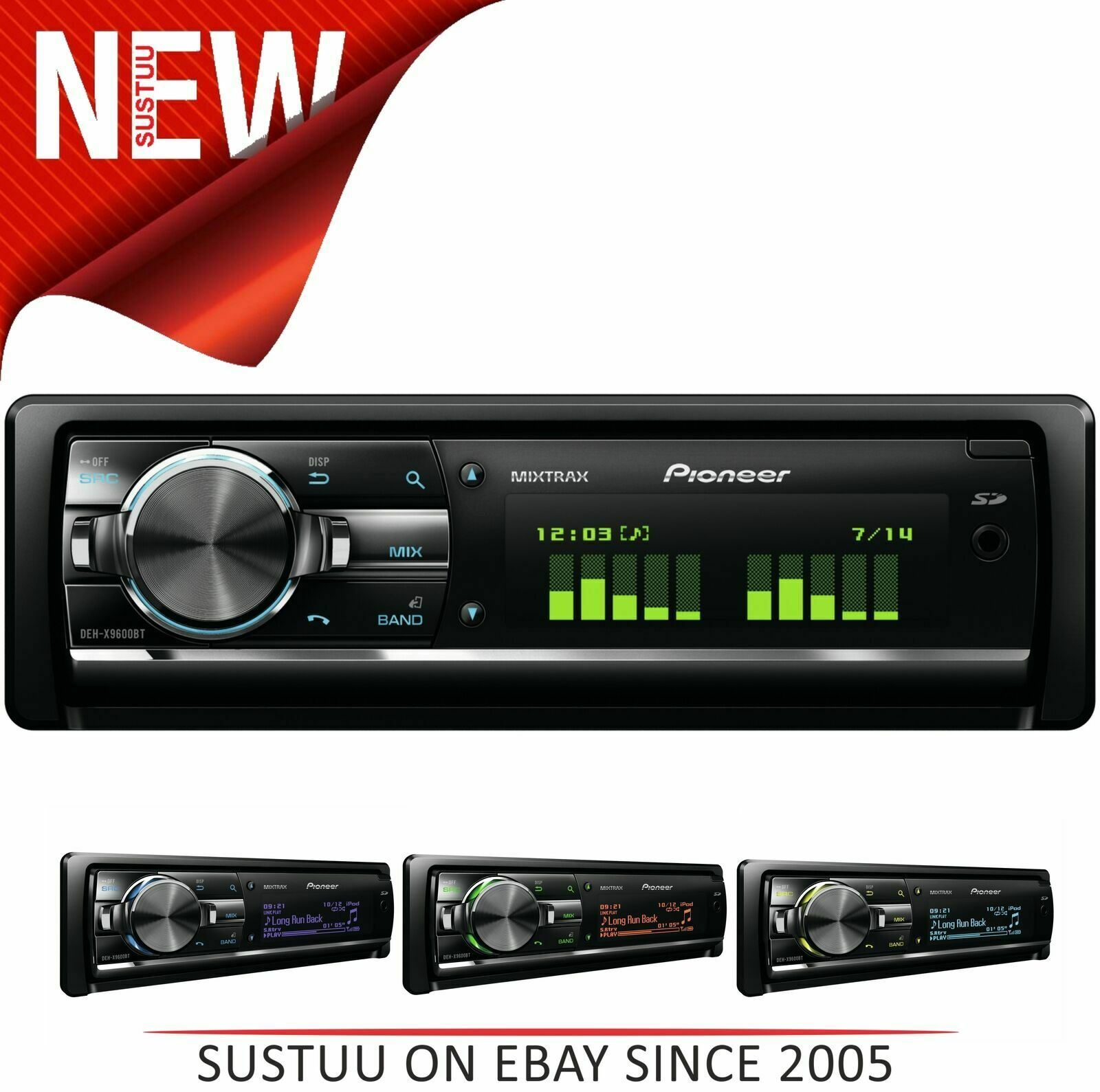 Vauxhall Tigra car radio Pioneer stereo USB AUX in iPod iPhone Android player