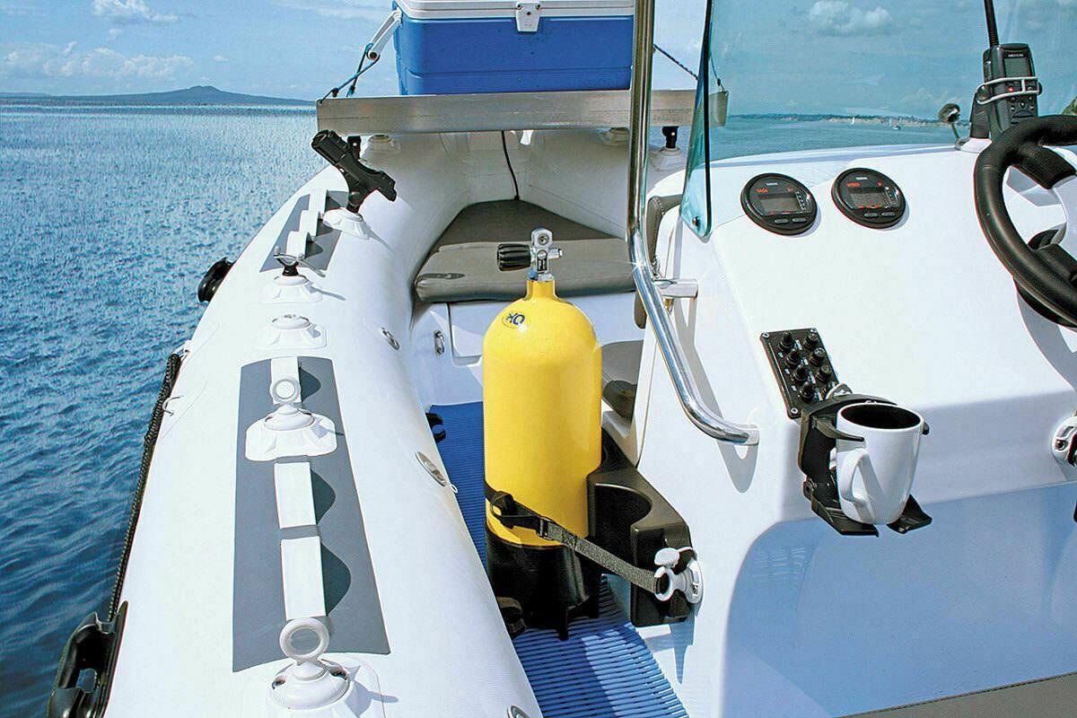 NEW Railblaza RIB Port inc StarPort│Inc 3M VHB Accessory│For Boats /& Kayaks│Grey