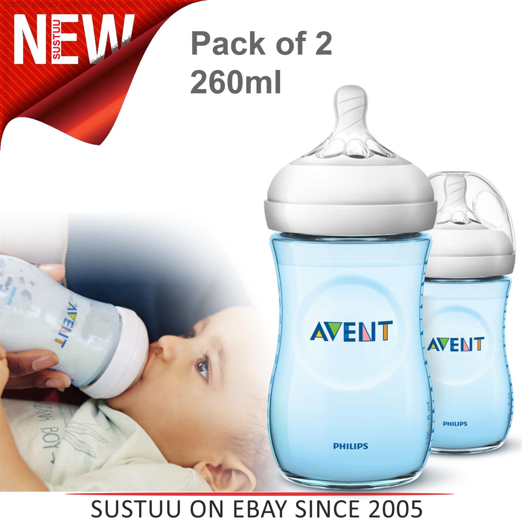 Philips Avent Bottle Feeding Essentials Gift Set 1 2 3 6 12 Packs