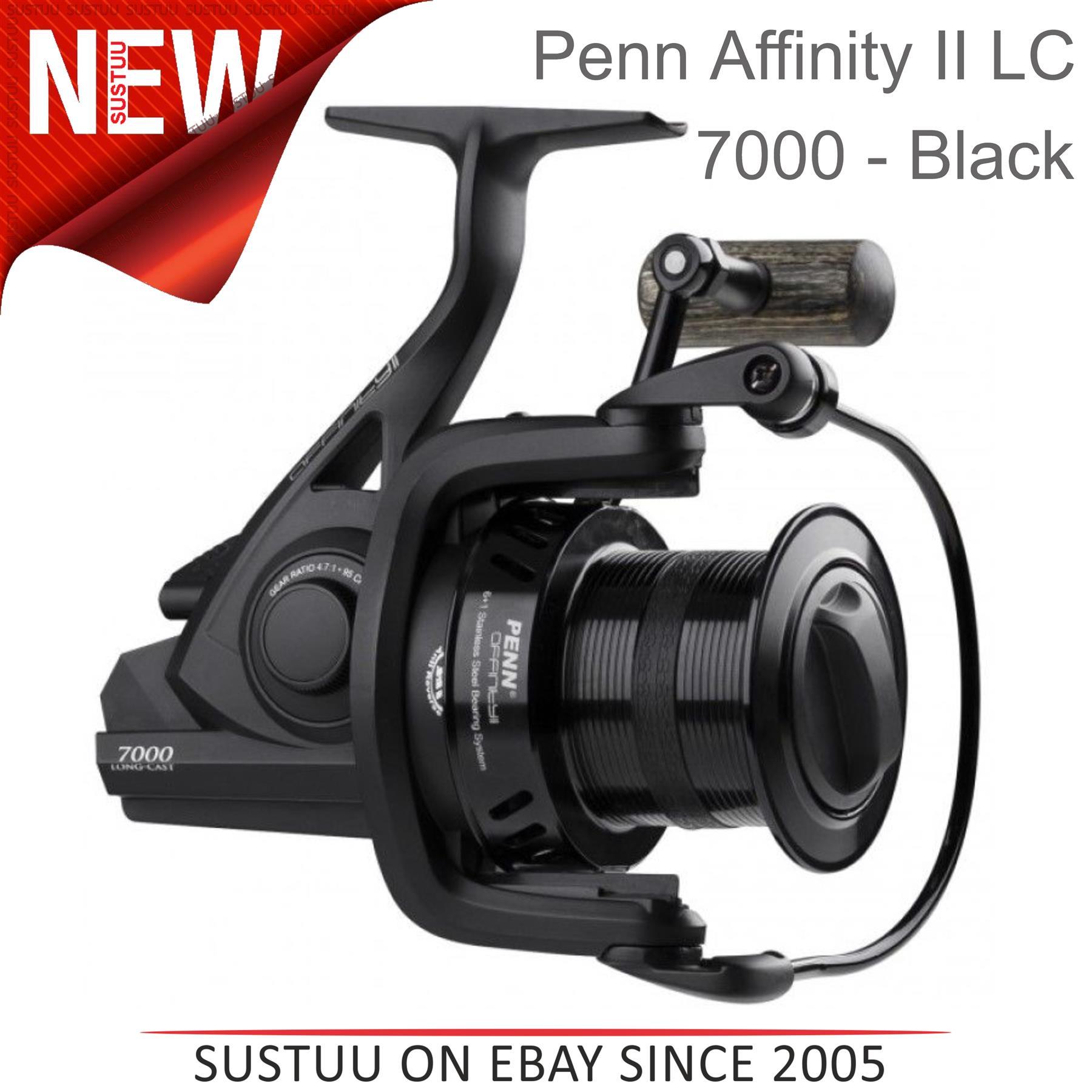 Penn Affinity II 7000 LC EU 1404622 Bobine de Carpe Noir Taille S