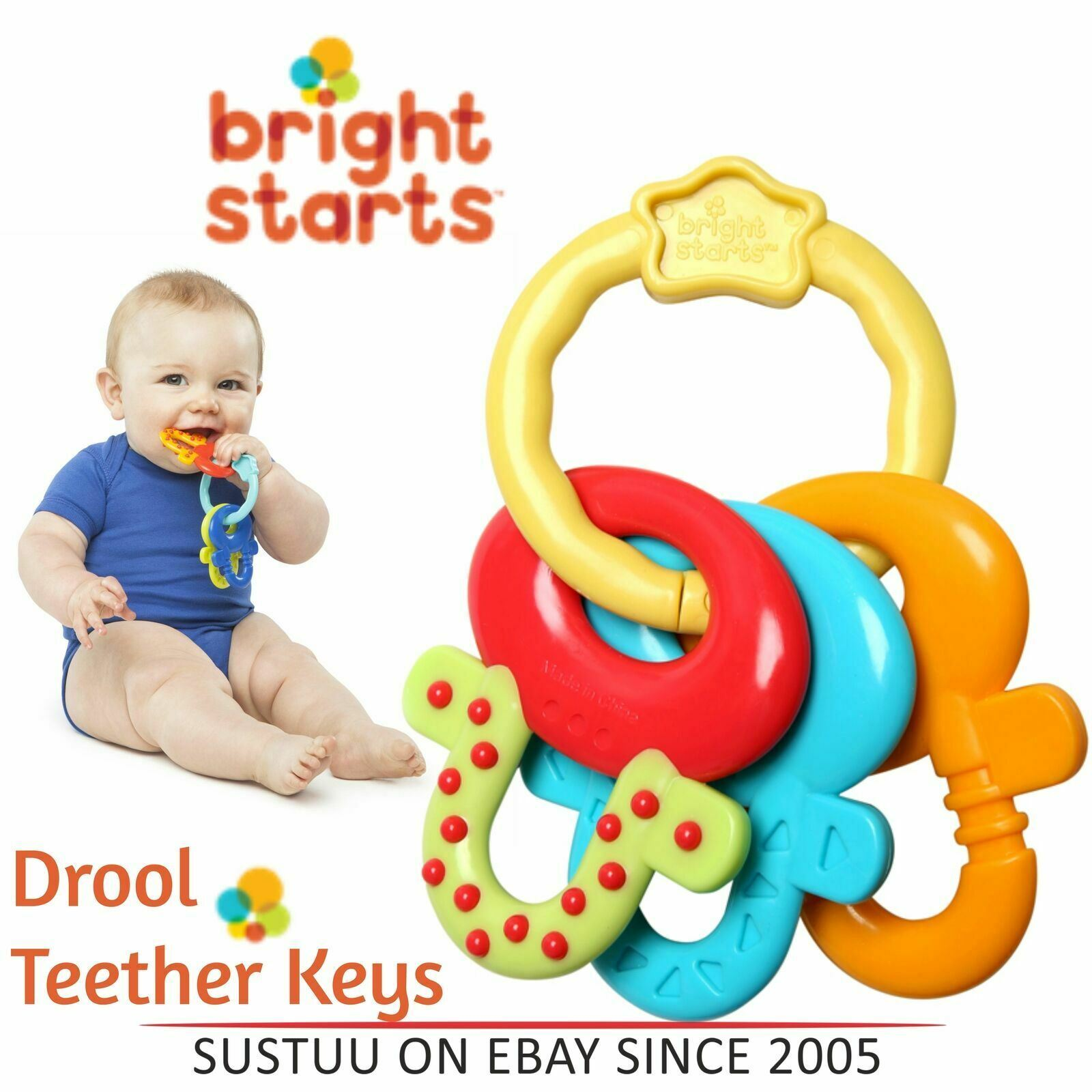 Silicone baby pacifier soother clip great teething carring breastfeeding drool