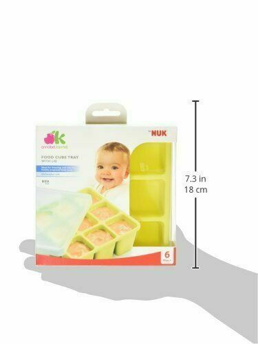 Annabel Karmel Baby Food Storing//Freezing Cube Tray│Flexible Pots│9 X 60ml│+6m
