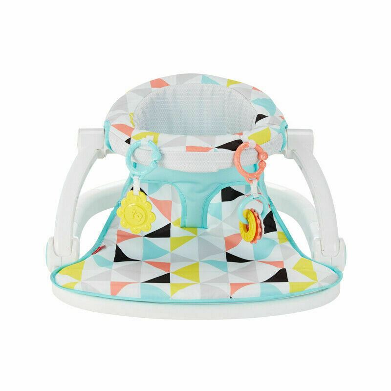 Fisher-Price Windmill Sit Me Up Seat│Kid/'s Lunch//Dinner Time Chair Toy│With Toys