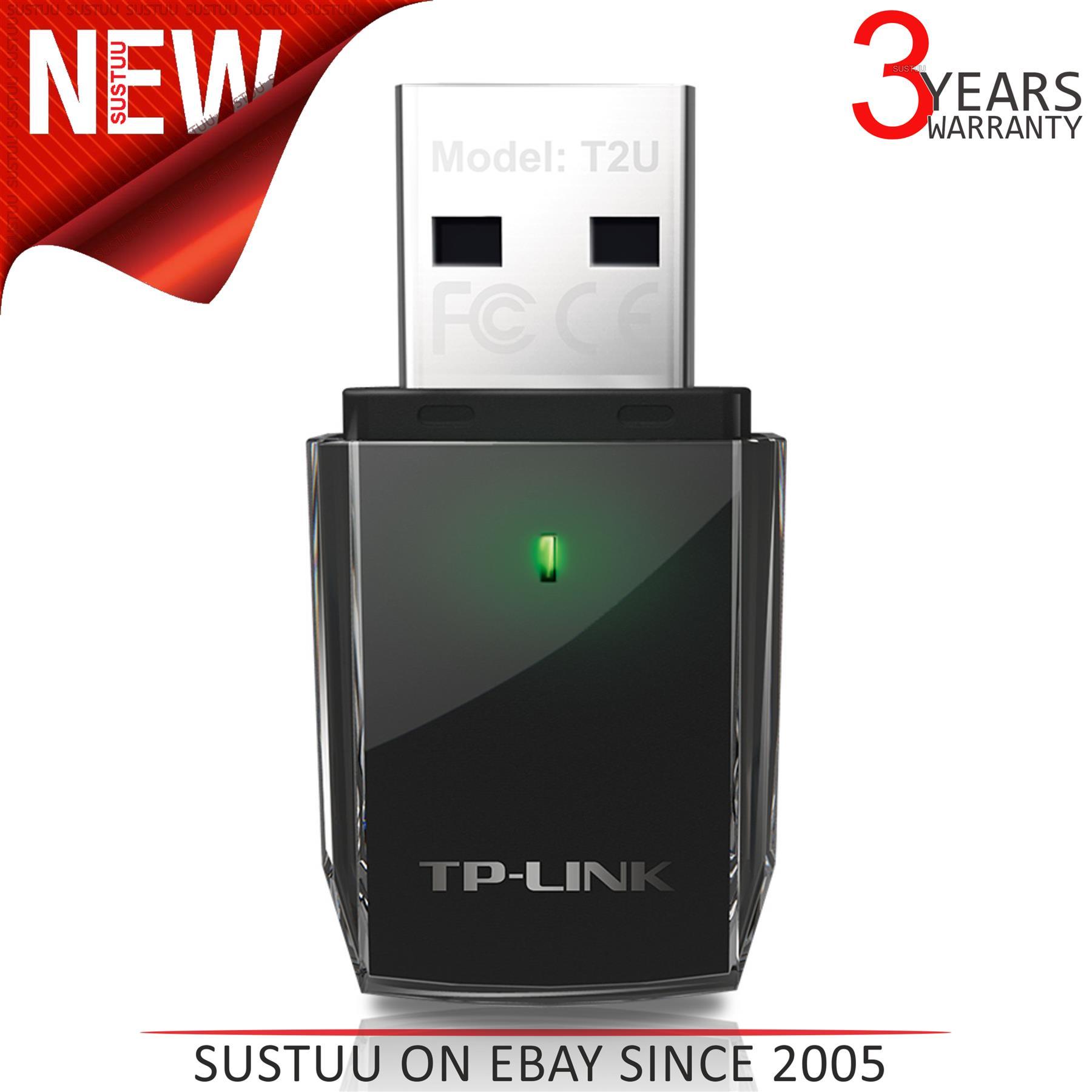 Dual Band 2.4G//5G AC600 Wireless N... TP-Link Archer T2U 11AC USB WiFi Adapter