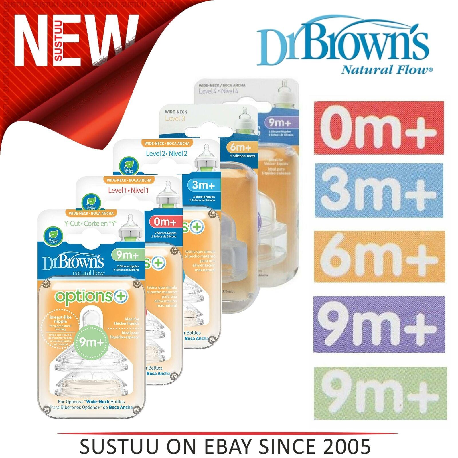 Dr Browns Options Teats Level 4