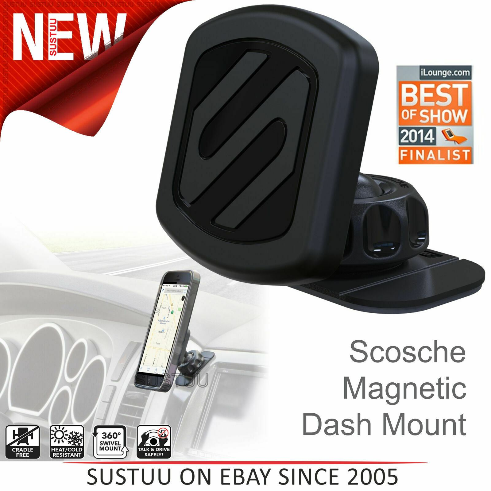 Scosch Magic Mount Free Flow Mounting System 2 Pack