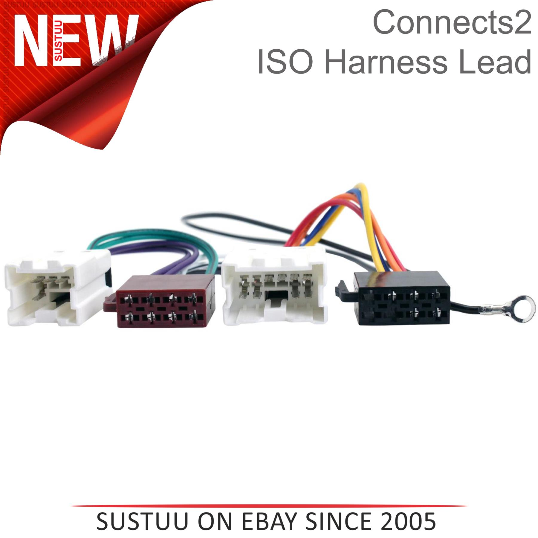 Connects2 CT20NS01 Car Stereo Wiring Harness Adaptor Loom For Nissan PC2-13-4
