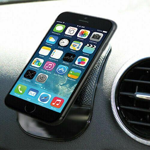 Large Anti-Slip Dashboard Sticky Pad Mobile Phone Holder Non-Slip Mat-Green x4