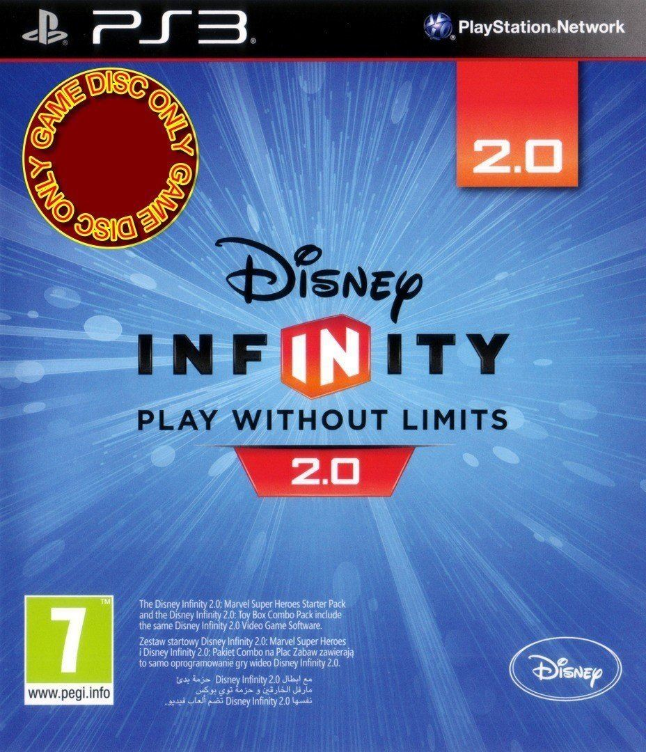 Disney Infinity 20 Game Only Ps3 Playstation 3 8717418435349 Ebay