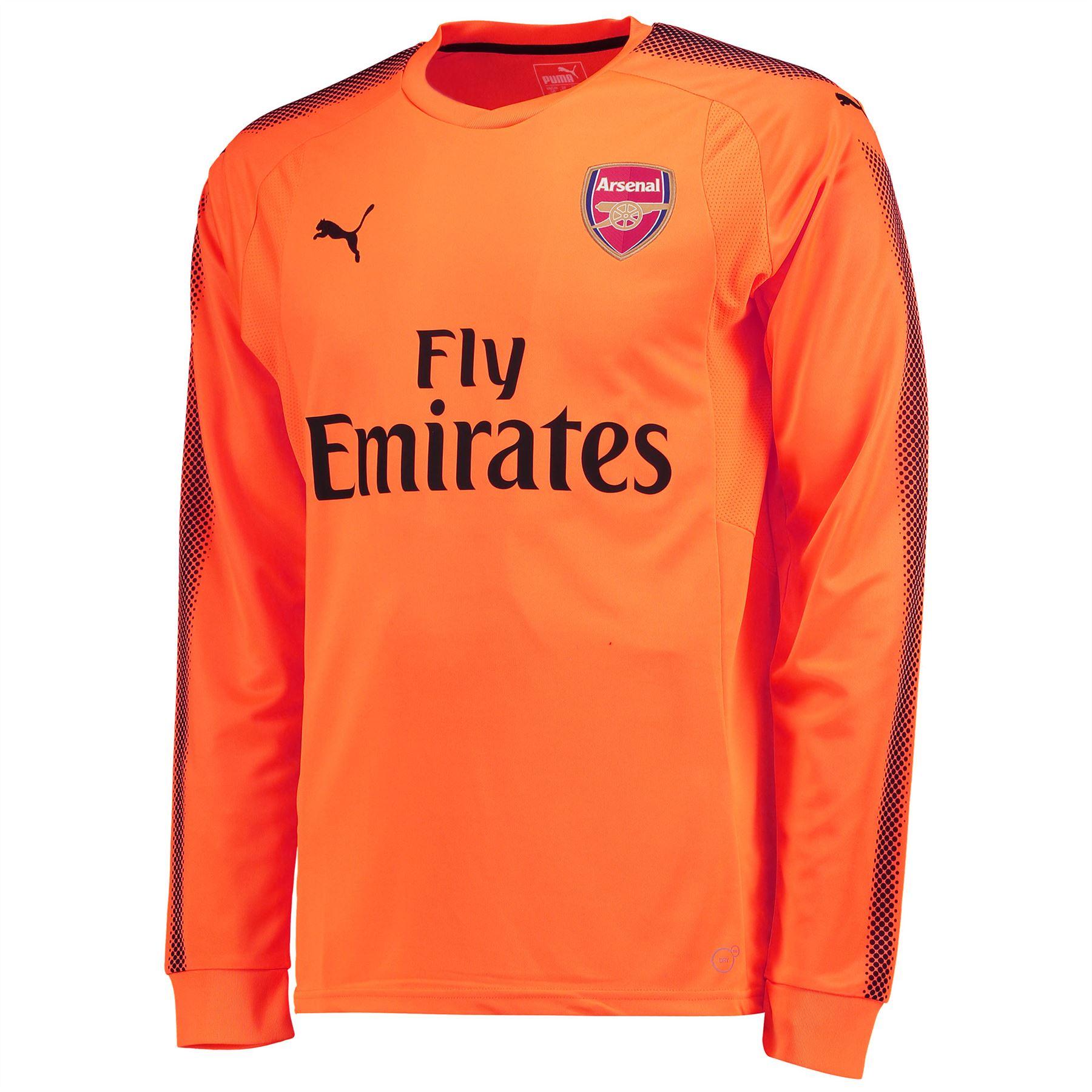 Arsenal-Away-Portero-Camiseta-2017-18-Ninos-Puma