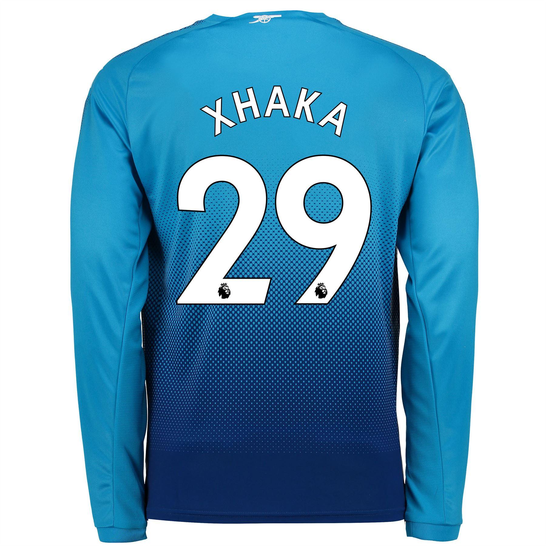 Arsenal-Futbol-Away-Camiseta-2017-18-Manga-Larga-Hombre-Puma