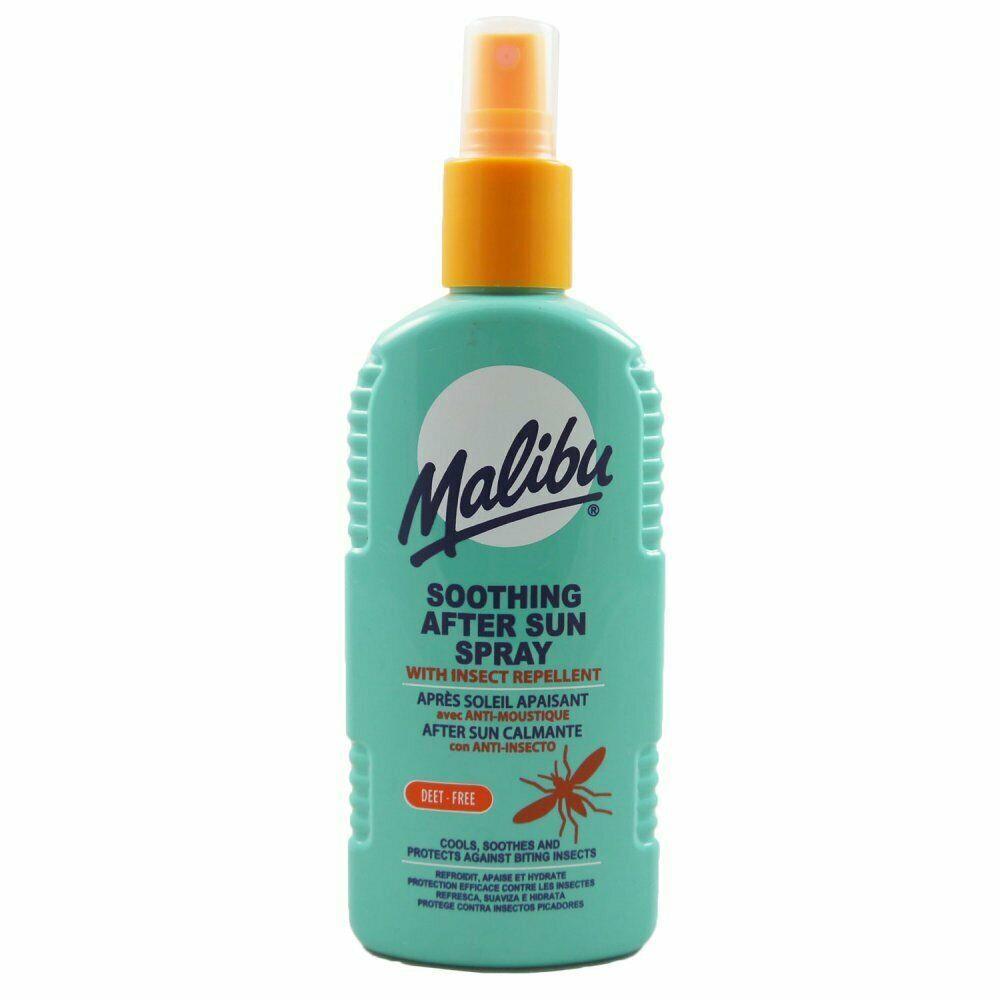 MALIBU-Dopo-Sole-Aftersun-Gel-Crema-Idratante-Viso-Body-Lotion-crema-Bundle miniatura 7
