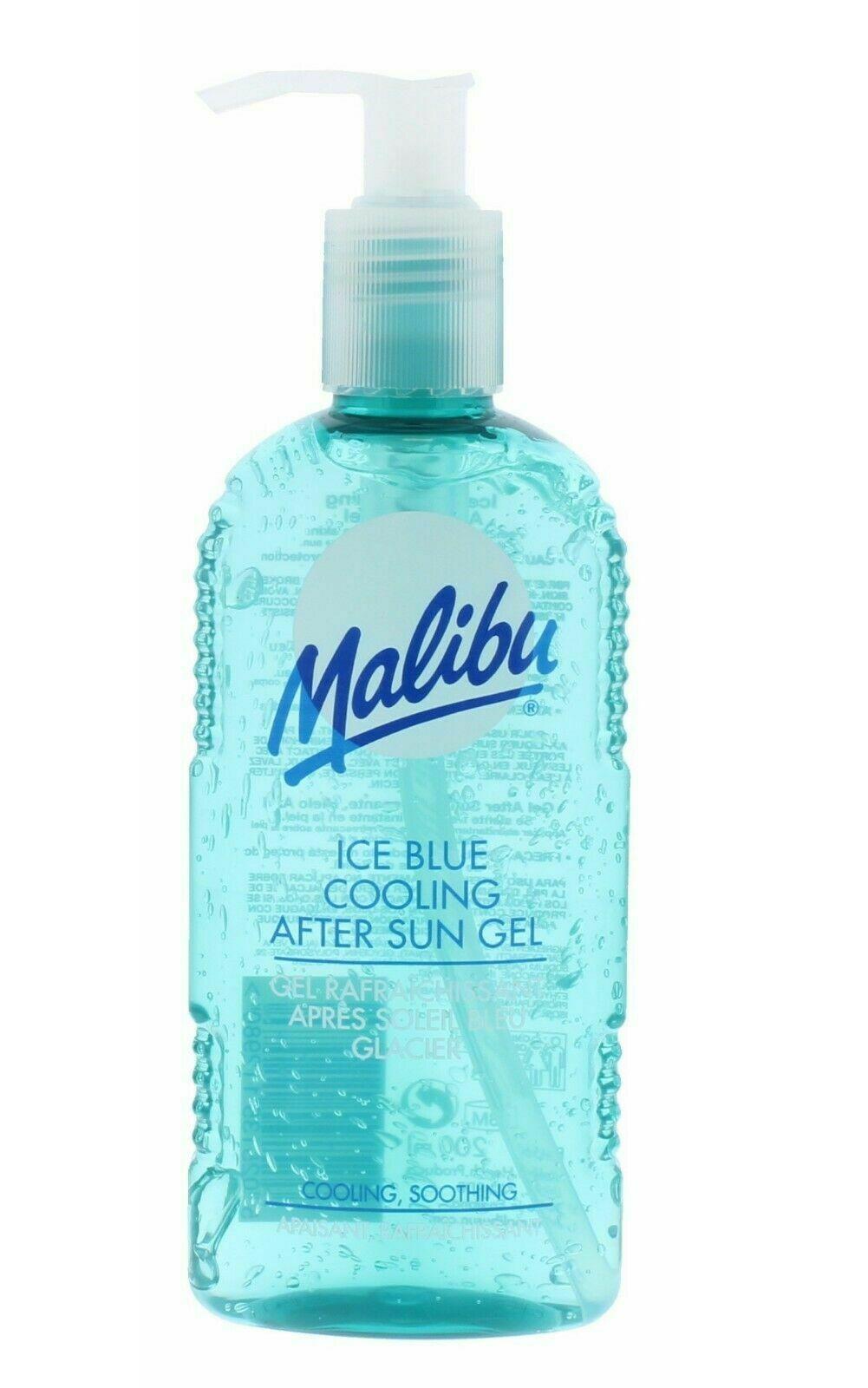 MALIBU-Dopo-Sole-Aftersun-Gel-Crema-Idratante-Viso-Body-Lotion-crema-Bundle miniatura 15