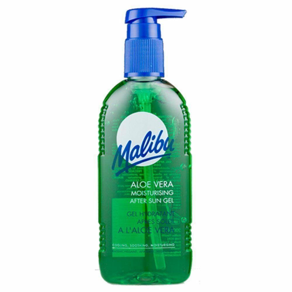 MALIBU-Dopo-Sole-Aftersun-Gel-Crema-Idratante-Viso-Body-Lotion-crema-Bundle miniatura 9