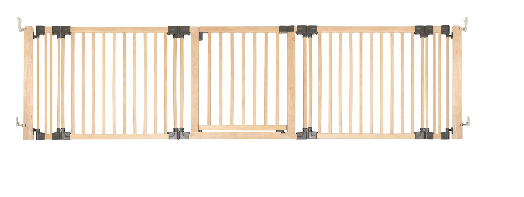 Safetots Premium Wooden Wide Pet Gate Dog Room Divider ...