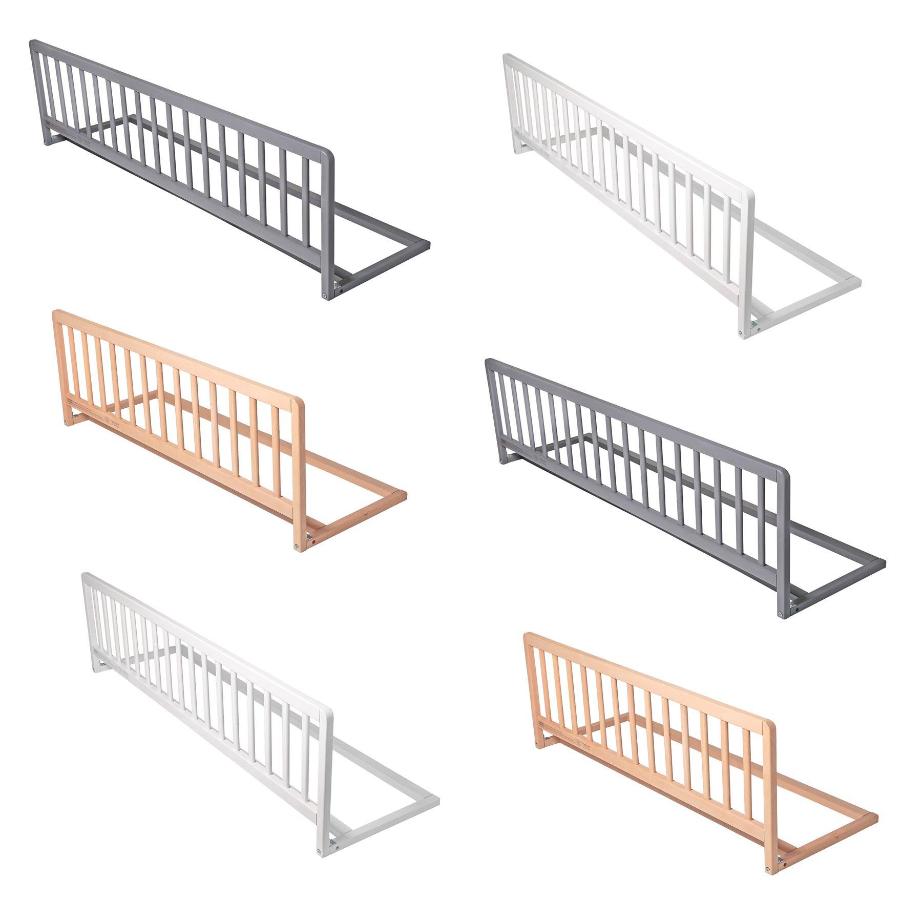 Safetots Premium Wooden Bed Rail Safety Toddler Bed Guard Kids Wood