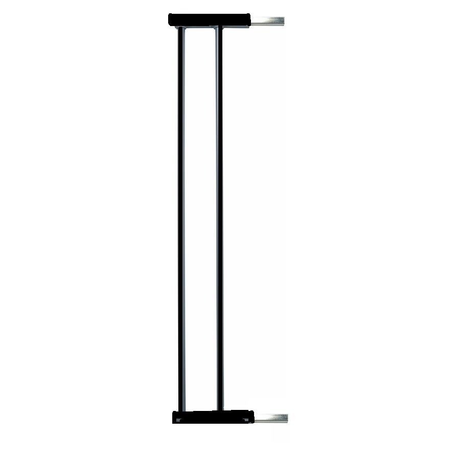 BabyDan Extra Tall Pressure Indicator Baby and Pet Gate Extension Black 13.5cm
