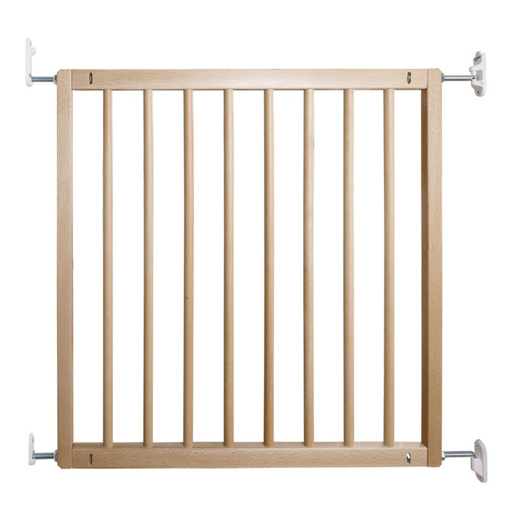 BabyDan No Trip Wooden Safety Baby Stair Gate Wall Mounted Stair Gate  72 78.5cm
