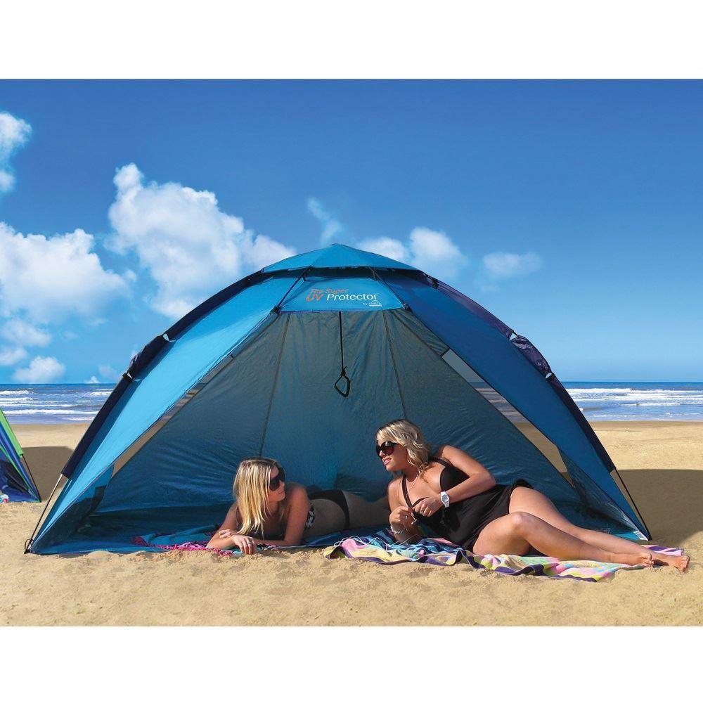 Sunproof Family UV Protector u0026 Beach Shelter Tent Large Beach/Park Sun Shelter  sc 1 st  eBay & Sunproof Family UV Protector u0026 Beach Shelter Tent Large Beach/Park ...