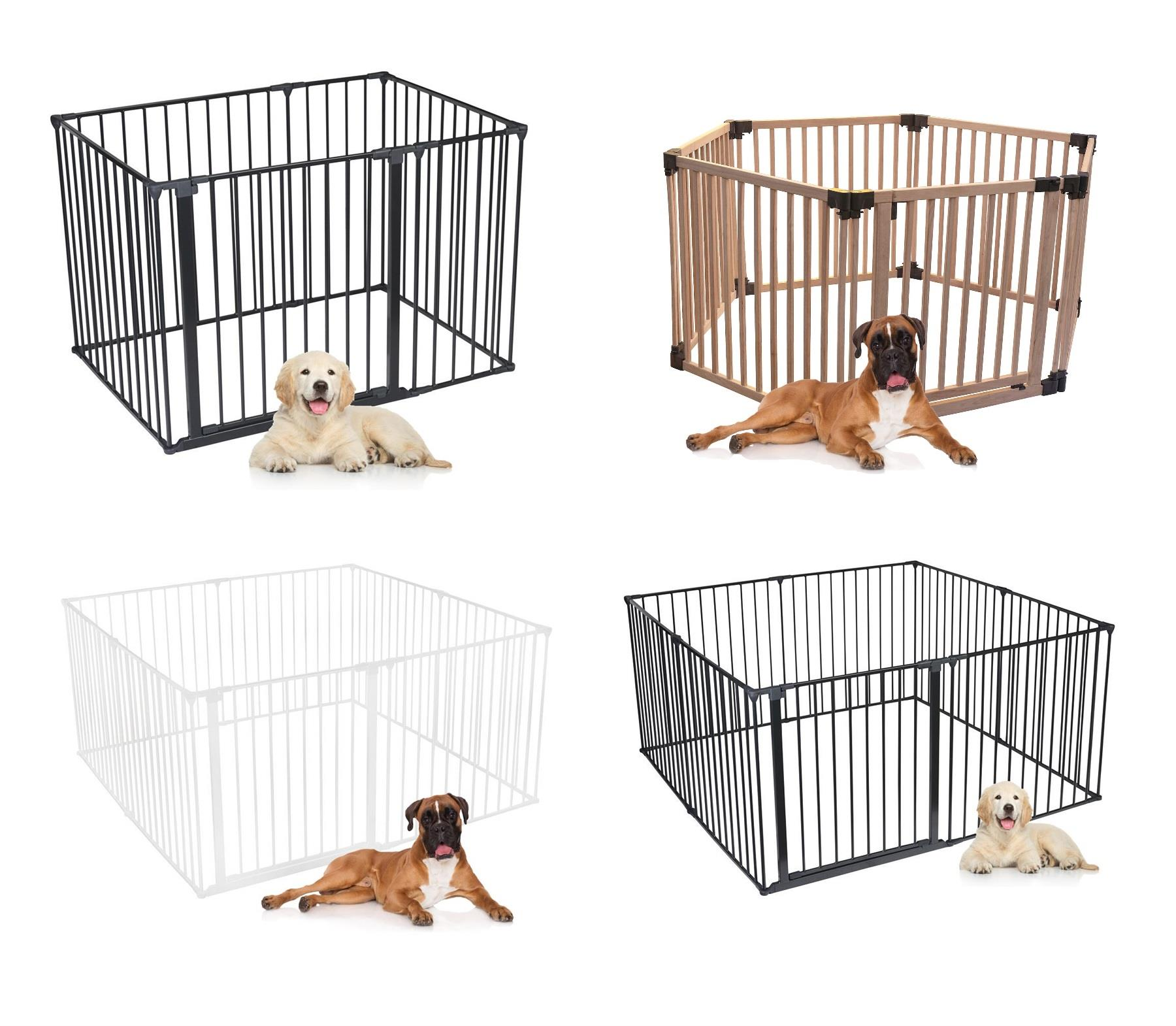 Details about Bettacare Premium Puppy Pen Indoor Deluxe Dog Pet Pens White  Black and Wooden