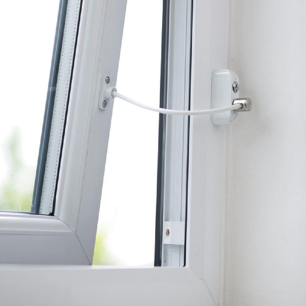 New BabyDan Door Window Lock Restrictor Child Safety Security Wire ...