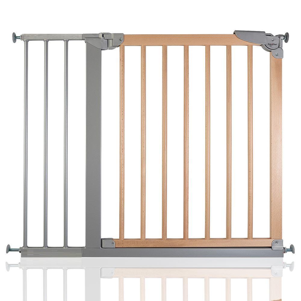 safetots large passerelle bois barri re de s curit escalier b b 69 1 95 6cm ebay