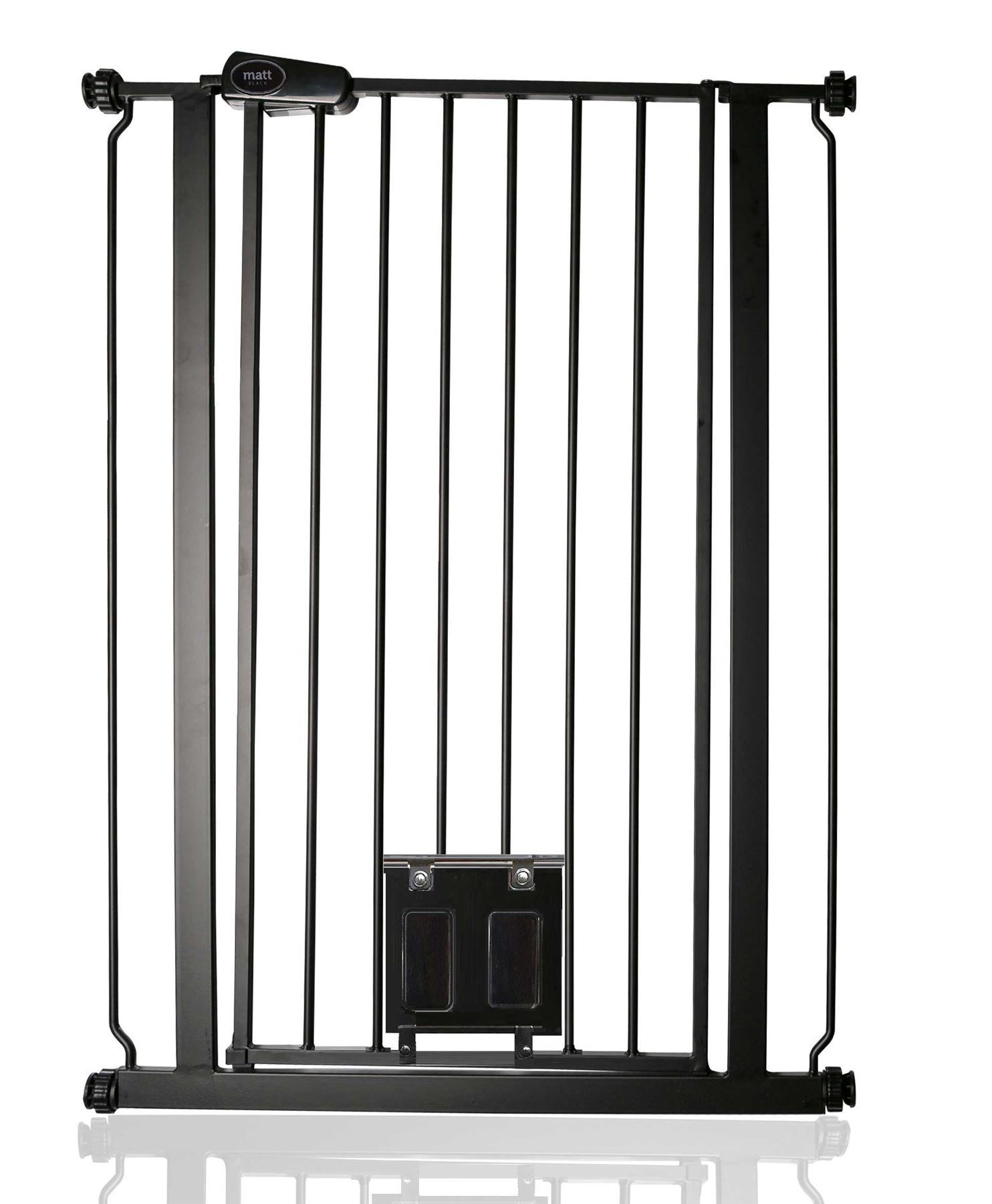 Bettacare Pet Gate With Cat Flap Effective Barrier For Pets With Extensions 75
