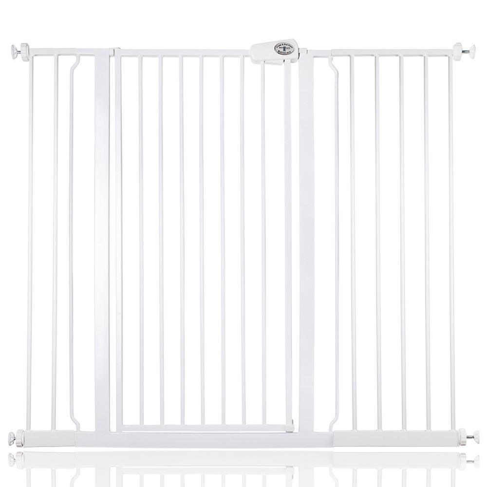 Barrera de seguridad autom/ática color blanco Bettacare 61-66.5 cm