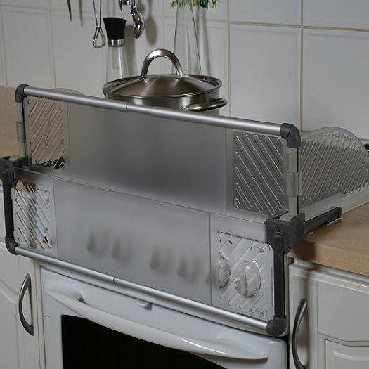 BabyDan Cooker Guard Stove Hob Metal Burn Protection Kitchen Safety