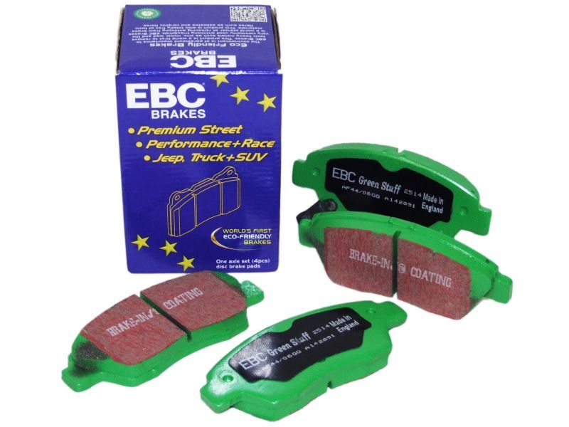 Disc Brake Pad Set-EBC 6000 Series Greenstuff Truck//SUV Brakes Disc Pads Front